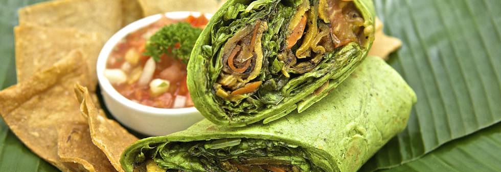 Veggie Wrap - Restaurante y Hotel en Montezuma, Costa Rica