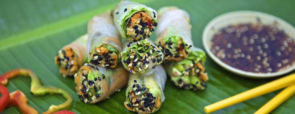 Namaste Spring Rolls – Restaurant & Hotel in Montezuma, Costa Rica