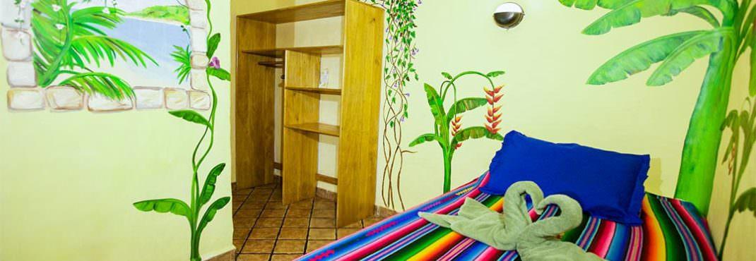 El Sano Banano Village Hotel Room single bed option